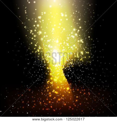 stars abstract background design for decorate your style