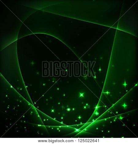 green light background luxury design for decorate