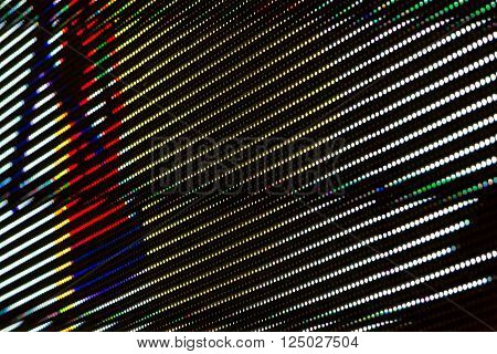 Rgb Led Screen Panel Background