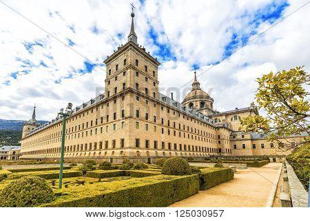 Royal Monastery Escorial (1584) Near Madrid, Spain