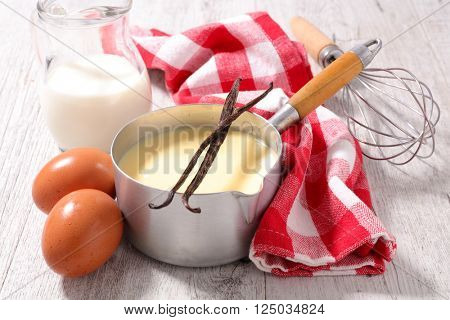 creme anglaise and ingredient
