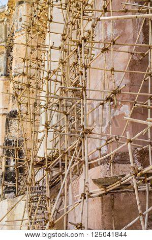 Bamboo Scaffolding In India