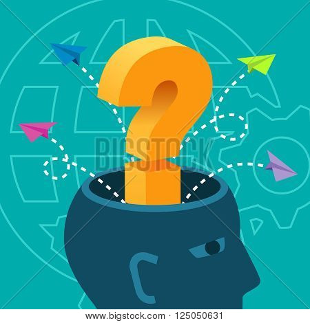 Brainstorm Ideas Problem Solving Knowledge Inspiration Concept