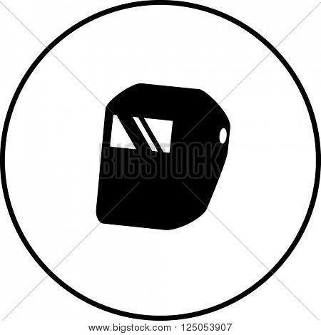 welding helmet symbol