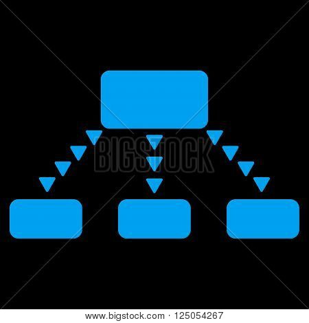 Dotted Scheme vector icon. Dotted Scheme icon symbol. Dotted Scheme icon image. Dotted Scheme icon picture. Dotted Scheme pictogram. Flat blue dotted scheme icon. Isolated dotted scheme icon graphic.