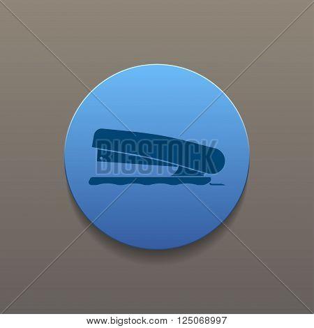 Stapler icon- Vector vector eps 10 illustration