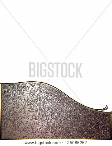 Metal Template for design. copy space for ad brochure or announcement invitation, abstract background.
