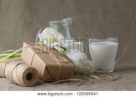 Wrapping Eco Present Packages