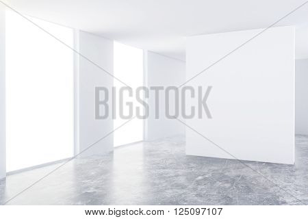Interior With Blank Board