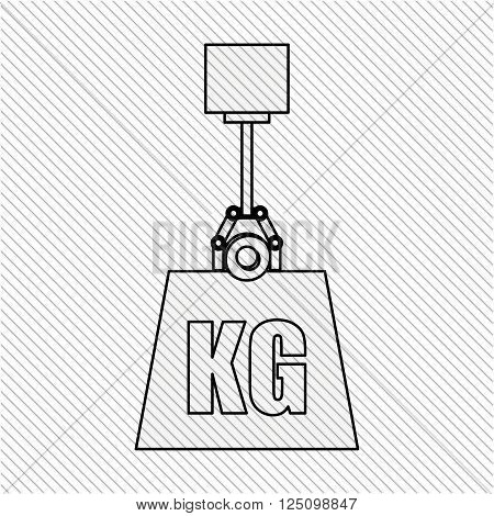 weight measurement design, vector illustration eps10 graphic