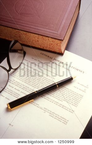 Book And Legal Document
