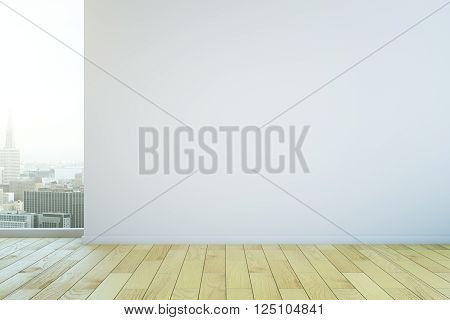 Blank Wall In Room