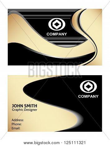 Business card set Business card set vector design template