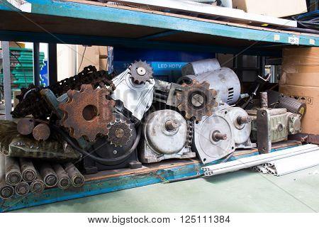 Keeping equipment industry Motor Gear Shaft Chain.
