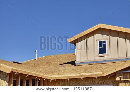 Home building construction carpentry gable roof dormer framing transition pitch