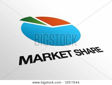 Perspective Market Share Sign