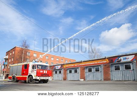Kamaz 43253 Truck As A Fire Engine Modification