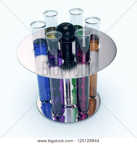 Test Tube, Concept Of Scientific Research