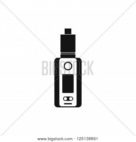 Vape device icon in simple style on a white background