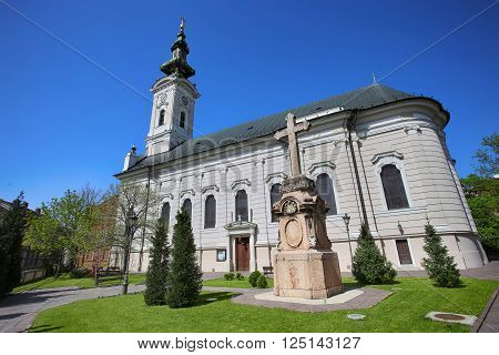 Cathedral Church of the Holy Great-Martyr George (Saborna Crkva) in Novi Sad Serbia