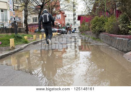 Puddles In The Street