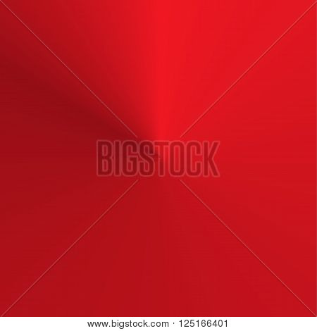 Circular round gradient in shades of red - square background