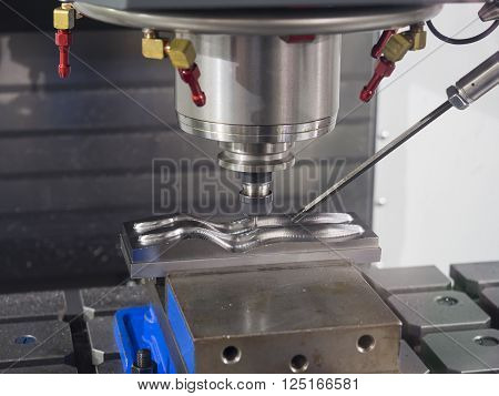 Cnc Machining Center Cutting Mold