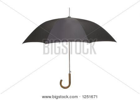 Guarda-chuva preta