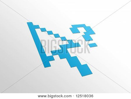 Perspective Computer Cursor
