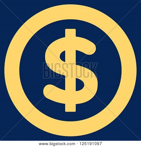Finance vector icon. Finance icon symbol. Finance icon image. Finance icon picture. Finance pictogram. Flat yellow finance icon. Isolated finance icon graphic. Finance icon illustration.