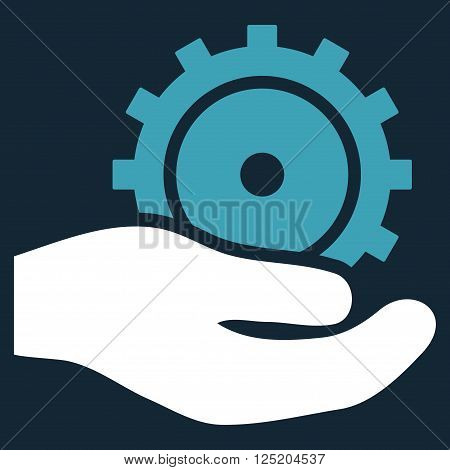 Development Service vector icon. Development Service icon symbol. Development Service icon image. Development Service icon picture. Development Service pictogram.