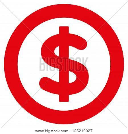 Finance vector icon. Finance icon symbol. Finance icon image. Finance icon picture. Finance pictogram. Flat red finance icon. Isolated finance icon graphic. Finance icon illustration.