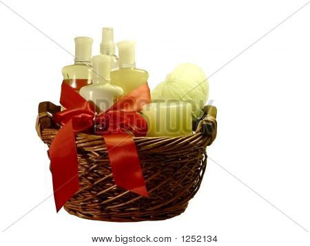 Bath Accessories Gift Basket