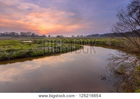 Regge River Sunset