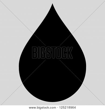 Drop vector icon. Drop icon symbol. Drop icon image. Drop icon picture. Drop pictogram. Flat black drop icon. Isolated drop icon graphic. Drop icon illustration.
