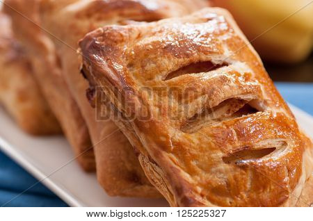puff pastry apple pastry turnovers for dessert