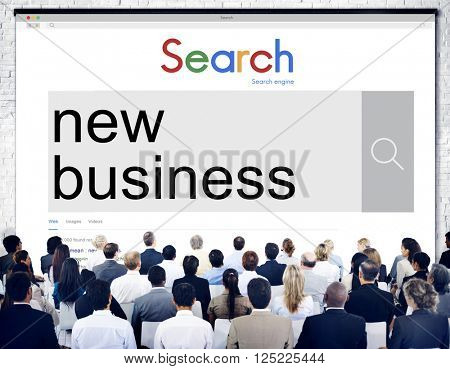 New Business Entrepreneurship Startup Planning Concept