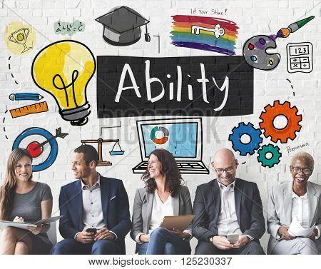 Ability Achievement Inspiration Improvement Concept