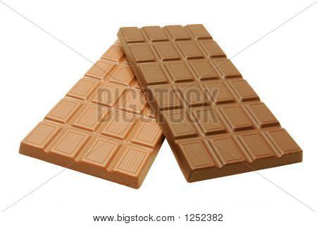 Organic Dark And Milk Chocolate Bars