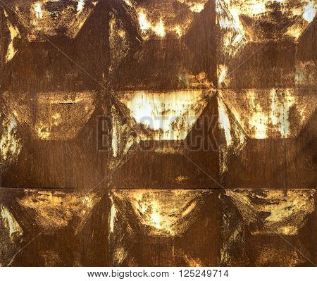 texture, yellow ,rusty squares, abstract, dirty, meta