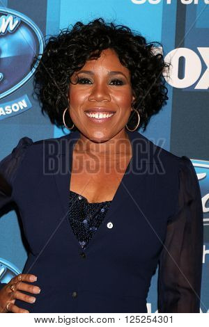 LOS ANGELES - APR 7:  Melinda Doolittle at the American Idol FINALE Arrivals at the Dolby Theater on April 7, 2016 in Los Angeles, CA