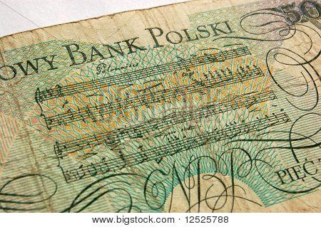 Polonaise banknote