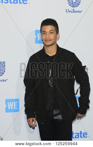 LOS ANGELES - APR 7:  Jordan Fisher at the WE Day California 2016 at the The Forum on April 7, 2016 in Inglewood, CA