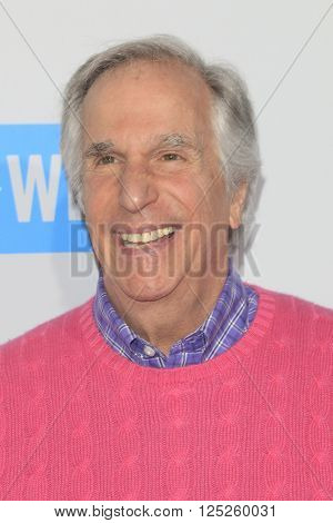 LOS ANGELES - APR 7:  Henry Winkler at the WE Day California 2016 at the The Forum on April 7, 2016 in Inglewood, CA