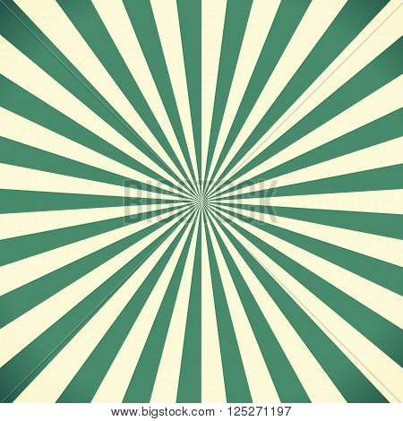 White and green sunburst pattern background texture
