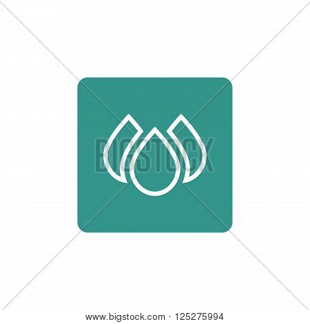 Ecology Drops Icon In Vector Format. Premium Quality Ecology Drops. Web Graphic Ecology Drops Sign O