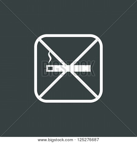 Ecology No Smoke Icon In Vector Format. Premium Quality Ecology No Smoke. Web Graphic Ecology No Smo