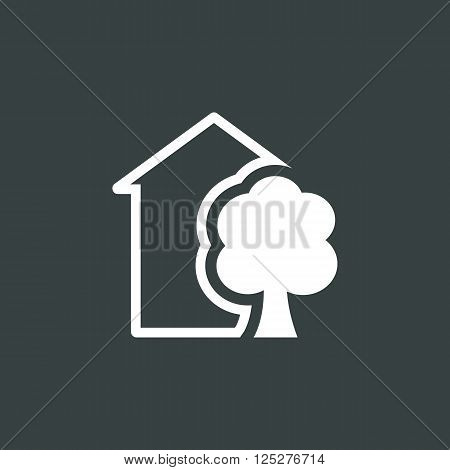 Ecology Tree Icon In Vector Format. Premium Quality Ecology Tree. Web Graphic Ecology Tree Sign On D