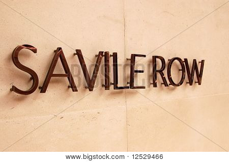 Savile Row, London