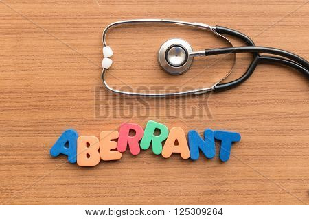 Aberrant Medical Word